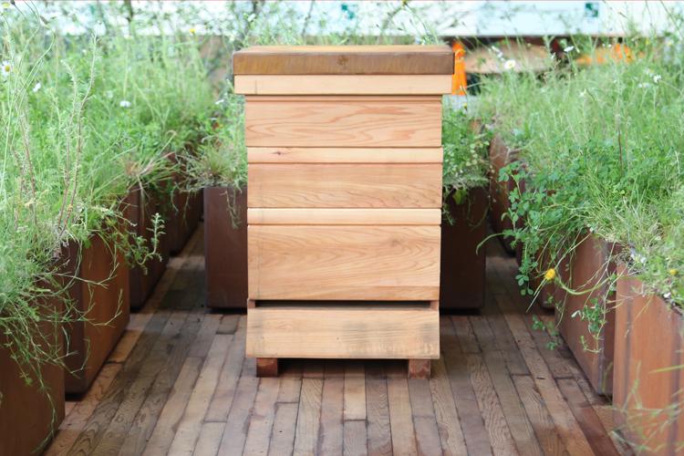 Beehive made for Adam Frost's Chelsea 2015 show garden